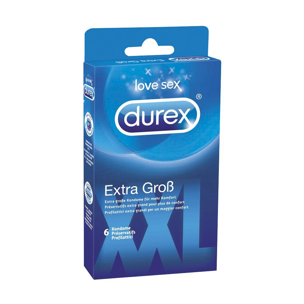 durex extra gro xxl 6 stck. Black Bedroom Furniture Sets. Home Design Ideas