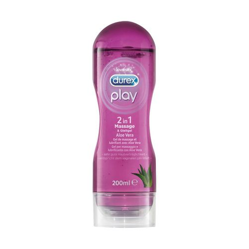 Durex Play Massage 2 in 1, 200 ml mit Aloe Vera