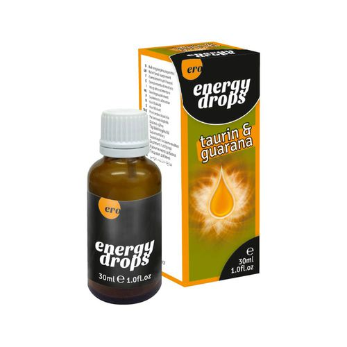 Energy Drops for Men and Women Taurin & Guarana, 30 ml