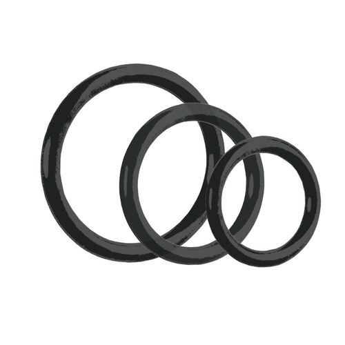Tri-Rings Black 3er Set - Penisringe