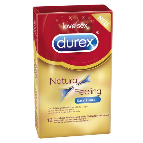 Durex Natural Feeling Easy Glide (12 Stck.) - latexfrei