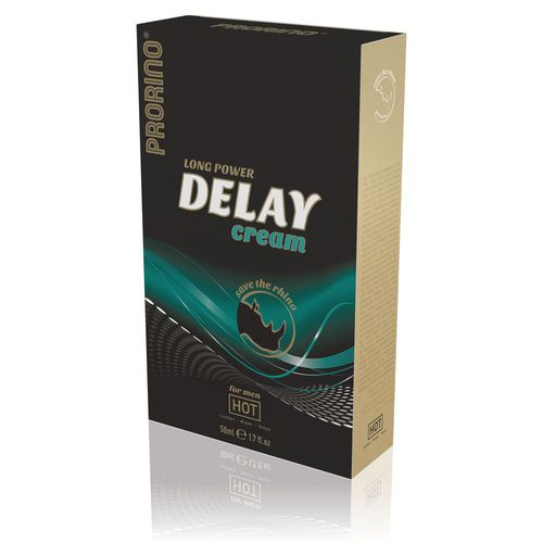 Long Power Delay Cream for men, 50ml