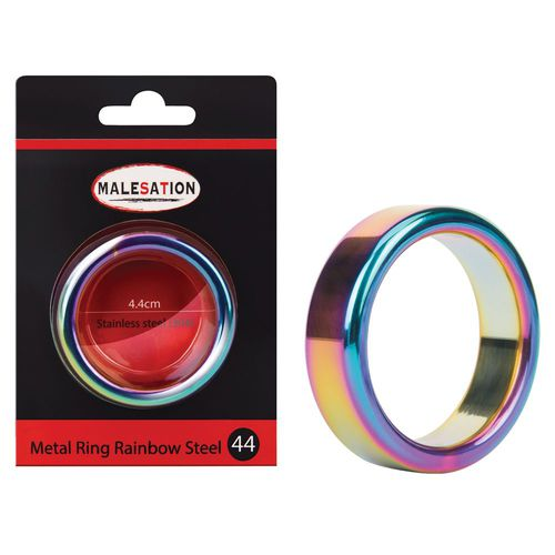 Metal Ring Rainbow 44 mm - Penisring