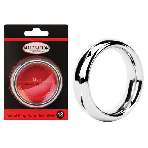 Metal Ring Rounded 48 mm - Penisring