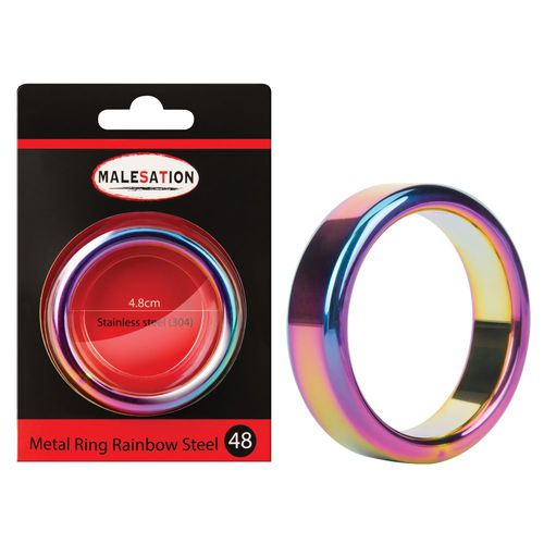 Metal Ring Rainbow 48 mm - Penisring